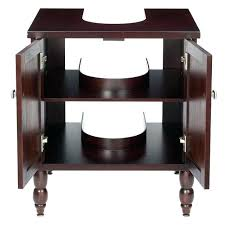 under pedestal sink cabinet amazing of storage with bathroom incredible homes