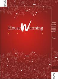 housewarming cards to print house warming invitation cards printable india