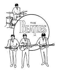 Afbeeldingsresultaat Voor Beatles Drawings Music Kleurplaten