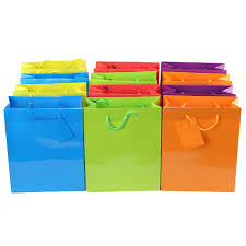 Large Colored Paper Bagsl