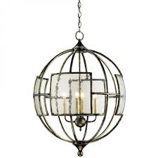 currey and company broxton orb chandelier bronze