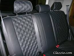Quilted-Type Clazzio Leather Seat Covers & Quilted (Diamond Stitch) PVC Adamdwight.com