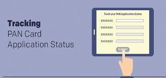 your pan card application status