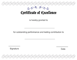Certificate Of Excellence Template Free PrintablepdfsCertificateofExcellenceTemplate Professional And 10