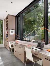 Home Offices Konzipiert Für Zwei Personen Contemporist Moderne Büro
