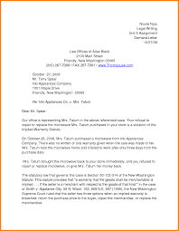 legal demand letter example