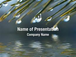 Water Drops Template Water Drops Powerpoint Templates Water Drops Powerpoint