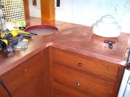 hammered copper countertops incomparable stand alone farm