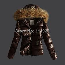 free brand fashion parkas coat fur hood