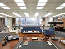 blue white office space. Excellent Blue Sofas Wooden Desks White Armchair Tour The Office Space 60 Tables