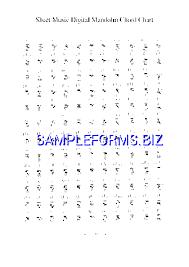 Free Mandolin Chord Chart Pdf Mandolin Chord Chart 3 Pdf Free 1 Pages
