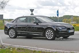 2016 Audi A4 Spied in Broad Daylight » AutoGuide.com News