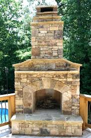 outdoor fireplace and grill how