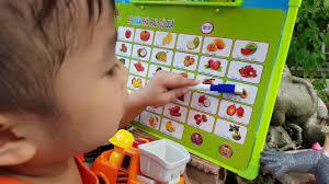 Trò Chơi Bảng Học Tên Cho Bé ❤ ChiChi ToysReview TV ❤ Đồ Chơi Trẻ Em Baby  Doli - YouTube