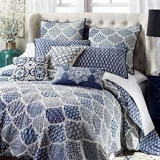 48 best *Bedding > Quilts & Quilt Sets* images on Pinterest ... & Blue Villa Printed Patchwork Quilt & Sham - Indigo - Cotton. White  BedroomsMaster ... Adamdwight.com