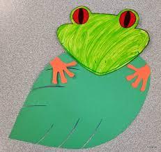 tree frog template tippytoe crafts peeking red eyed tree frogs