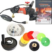 secco ccgrindpolset 5 inch variable sd concrete wet polishing and grinding kit