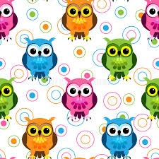 Owl Pattern Custom Seamless Owl Pattern Stock Vector Illustration Of Bird 48