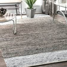 grey leather and cotton handmade contemporary rug x 8 area rugs grey contemporary rug blue area rugs
