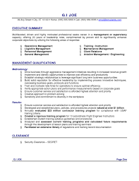 resume executive summary examples executive summary resume  resume sample objective summary resume sample