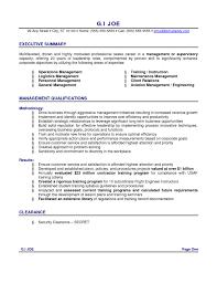 resume executive summary examples executive summary resume  resume sample objective summary resume sample