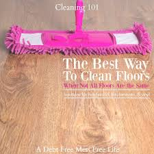 i know that most people sweep their floors before washing but i don t particularly like this method