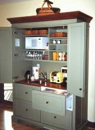 Armoire Hospitality Centers & Working Pantries | YesterTec Kitchen Design  Company