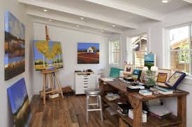 art studio design ideas for small spaces | Modern Little Art and Craft Home Studio  Design
