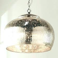 mercury glass chandelier shades mercury glass chandelier