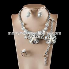luxurious indian 925 silver hip hop jewelry sets 24k saudi gold jewelry with whole