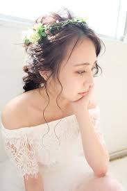花嫁さん必見ナチュラルな雰囲気のウェディングにぴったりなヘア