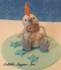 Fondant Baby Shower Cake Topper On Luulla