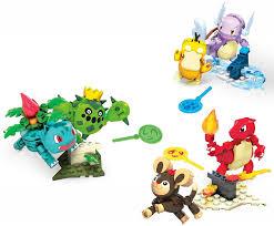 Mega Construx GNV47 - Mega Construx Pokémon Trainer Team Challenge, Bauset  mit 6 beweglichen Pokémon Figuren, Spielzeug ab 6 Jahren: Amazon.de:  Spielzeug