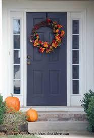 thanksgiving front door decorationsSpectacular Thanksgiving Front Door Decorations On Modern Home