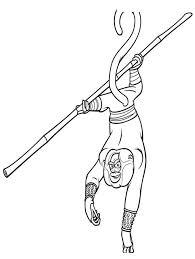 Kung Fu Panda Kleurplaat 56