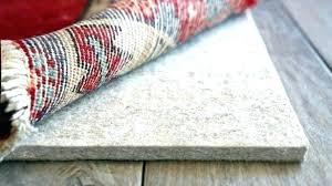thick rug pad rubber rug pad exciting felt and rubber rug pad trend pads for hardwood thick rug pad