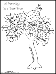 Small Picture Twelve Days Of Christmas Coloring Page Coloring Home Coloring