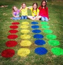 outdoor activities for kids. Lawn Version Of Twister. Super Cute Idea For A Summertime BBQ Or Something. | The Old Curiosity Shop Pinterest Lawn, And Twister Outdoor Activities Kids