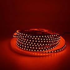 Red Led Rope Light 12v Led Strip Orange 600nm True Orange Led Strip Light 5050 3528 Smd Flexible Led Tape Rope Lights 12v Non Waterproof Waterproof 12v