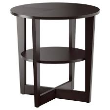 Ikea Kitchen Side Table Vejmon Side Table Black Brown Ikea