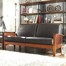 leather and wood sofas full size of sofas sectionals breathtaking brown black leather wooden mission style