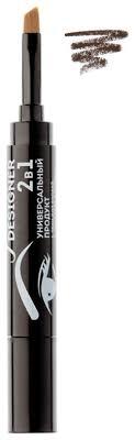 Универсальные <b>гелевые тени</b> 2 в 1 Ideal Eyebrow Designer 1,6г ...