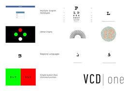 Digital Vision Chart Digital Vision Chart With Led Screen