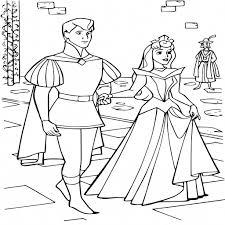 Coloriage Prince Et Princesse