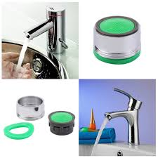 Kitchen Faucet Swivel Aerator Sink Water Faucet Tap Nozzle Tip Aerator Filter Sprayer Chrome