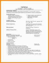 Basic Entry Level Resumes 12 13 Entry Level It Resume No Experience Lasweetvida Com