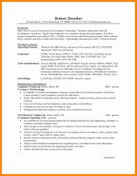 Resume Objective Tips Resume Example For A Position Web