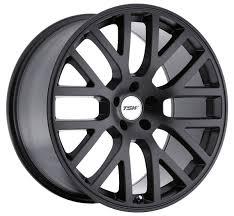 Details About 17x8 Tsw Donington 5x100 Rims 32 Matte Black Wheels Set Of 4