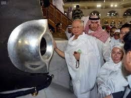Image result for najib mekah menangis