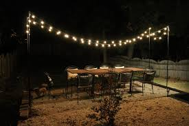 patio string light ideas. Beautiful Ideas Lighting From Lowe S Outdoor String Light Pole Unconvincing Diy Patio  Brooklyn House Elizabeth Burns Design For Ideas I